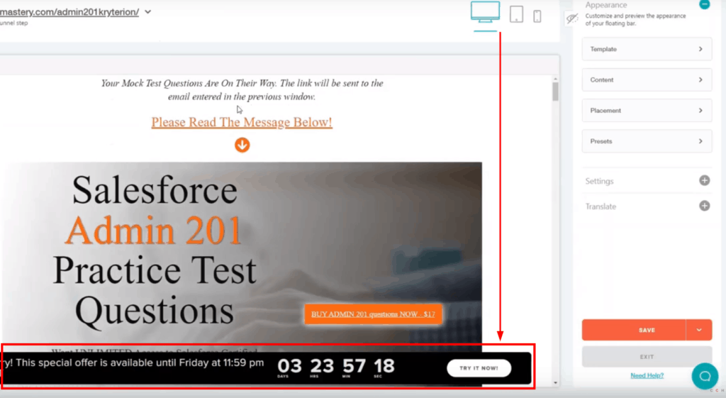 How To Use Deadline Funnel In Your Online Course 3